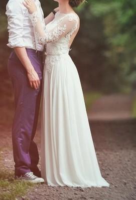 Suknia ślubna Hiszpańska Rozmiar Xs Stan Idealny 6702411883