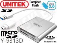 CZYTNIK KART UNITEK Y-9313D USB 3.0 TYP-C SD MMC