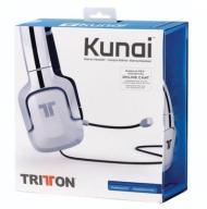 Słuchawki TRITTON KUNAI PS3 PS4 PSVITA Białe EX