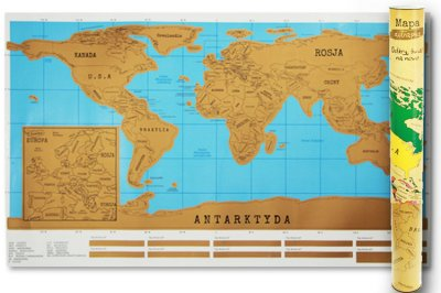 Maxim Puzzle 260 elementów Mapa Europy Domino-edu
