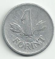 Węgry - 1 forint - W-15