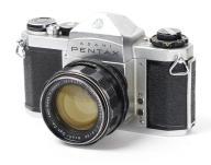 PENTAX SV + SUPER TAKUMAR 1.4/50mm M42