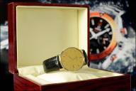 Złota męska CERTINA 18K Gold Collection