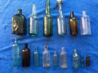 Zestaw starych butelek! Świetne Stany