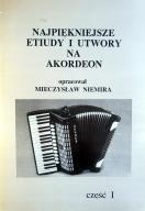 Najpiękniejsze etiudy i utwory na akordeon 1