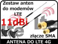 Antena do modem router LTE ZTE MF 283 plus zestaw