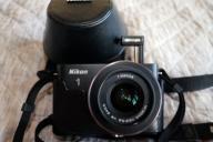Nikon 1 J1 z NIKKOR 10-30mm i skórzane etui+GRATIS