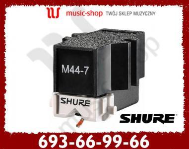 SHURE M44-7 Profesjonalna wkładka gramofonowa, KRK