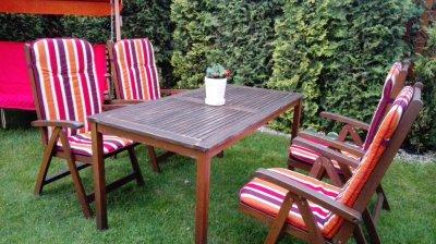 Zestaw Stół I Krzesła Jutlandia Hardwood Jysk 6282283253