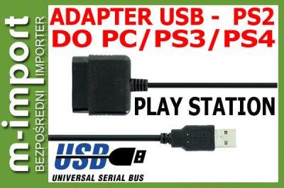Adapter do Pada PS2  na USB / PS3/ / PS4 / PC