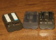 bateria BP-511 do aparat canon ,trzy sztuki