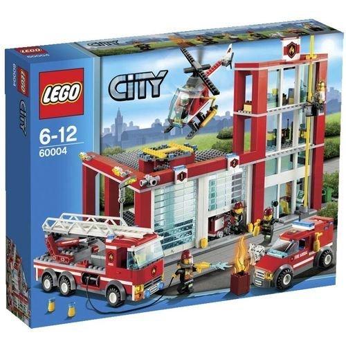 Lego City 60004 Straż Pożarna Remiza 7022888716 Oficjalne