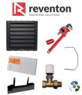 Nagrzewnica wodna REVENTON HC45 43,3kW ZESTAW 6w1