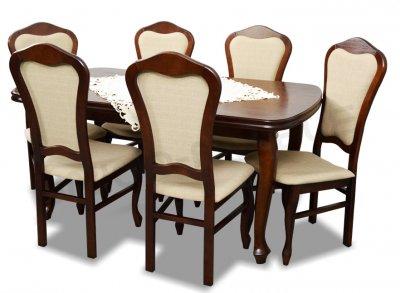 Zestaw Komplet Pokojowy Stół I Krzesła Do Jadalni