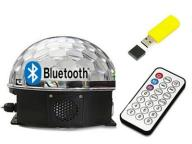 ! KULA DYSKOTEKOWA LED DISCO LASER USB Z BLUETOOTH