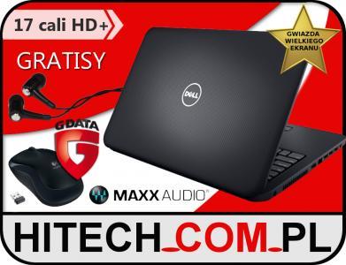 DELL DO GIER 17cali HD+ i7 8730M 1TB 8GB + GRATISY