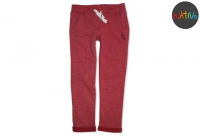 45472b3e595af4 Dziewczęce Spodnie Dresowe Różowe Nativo, 116 cm - 5703154615 ...