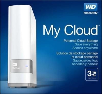 WD My Cloud Personal Cloud Storage 3TB