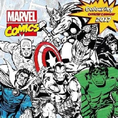 Marvel Comics - Kalendarz, Kalendarze 2017