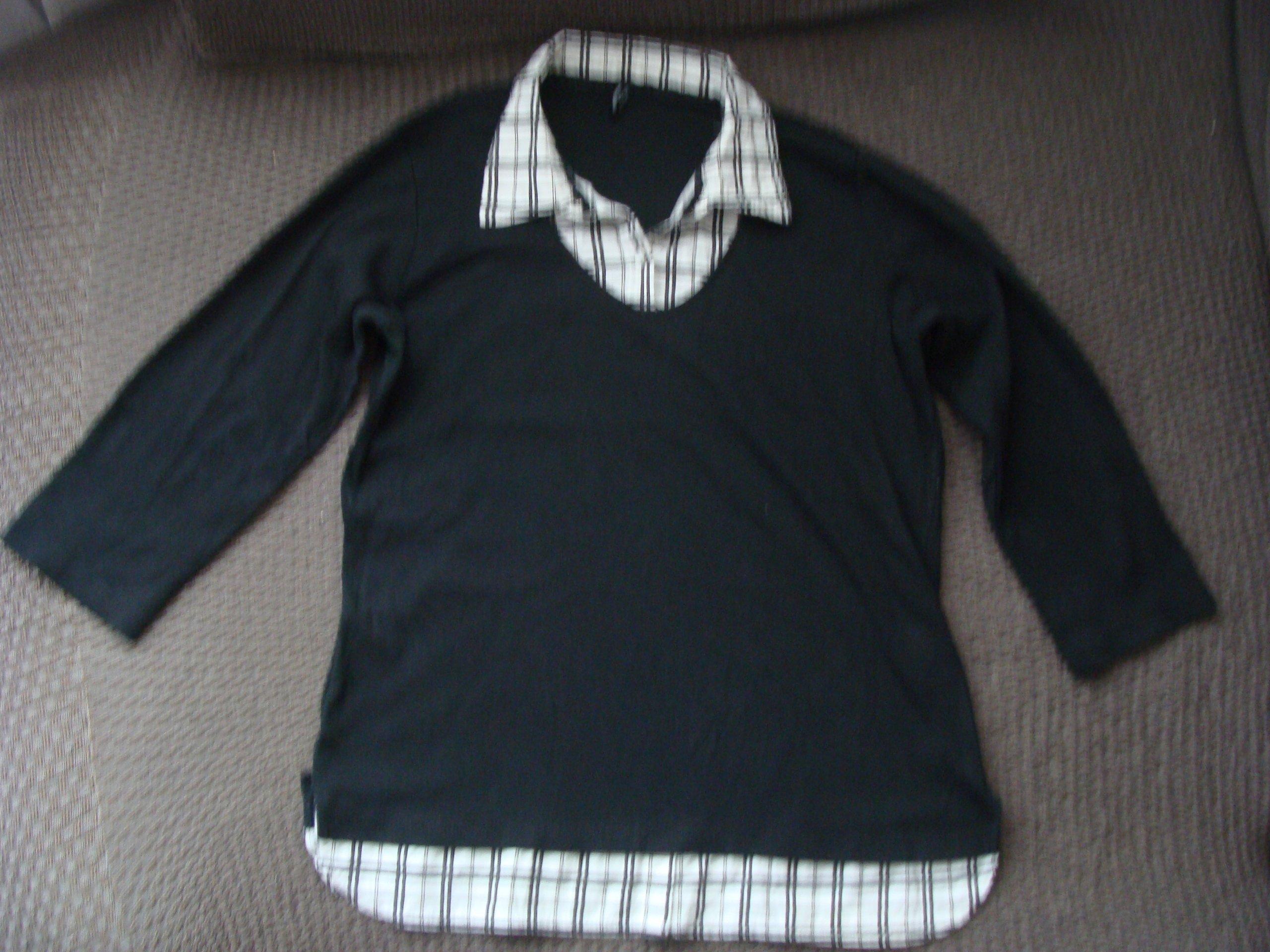 BLUZKA z koszulą 2w1 b.young L/XL