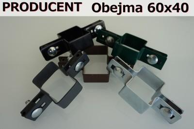 Obejmy 60x40 Obejma Panele Ogrodzeniowe Ogrodzenia 6726559686 Oficjalne Archiwum Allegro