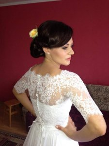Suknia ślubna Nabla Loretta Z Muślinowym Dołem 6205055924