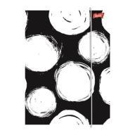 Teczka Laminowana Z Gumką A4 Black White Unipap