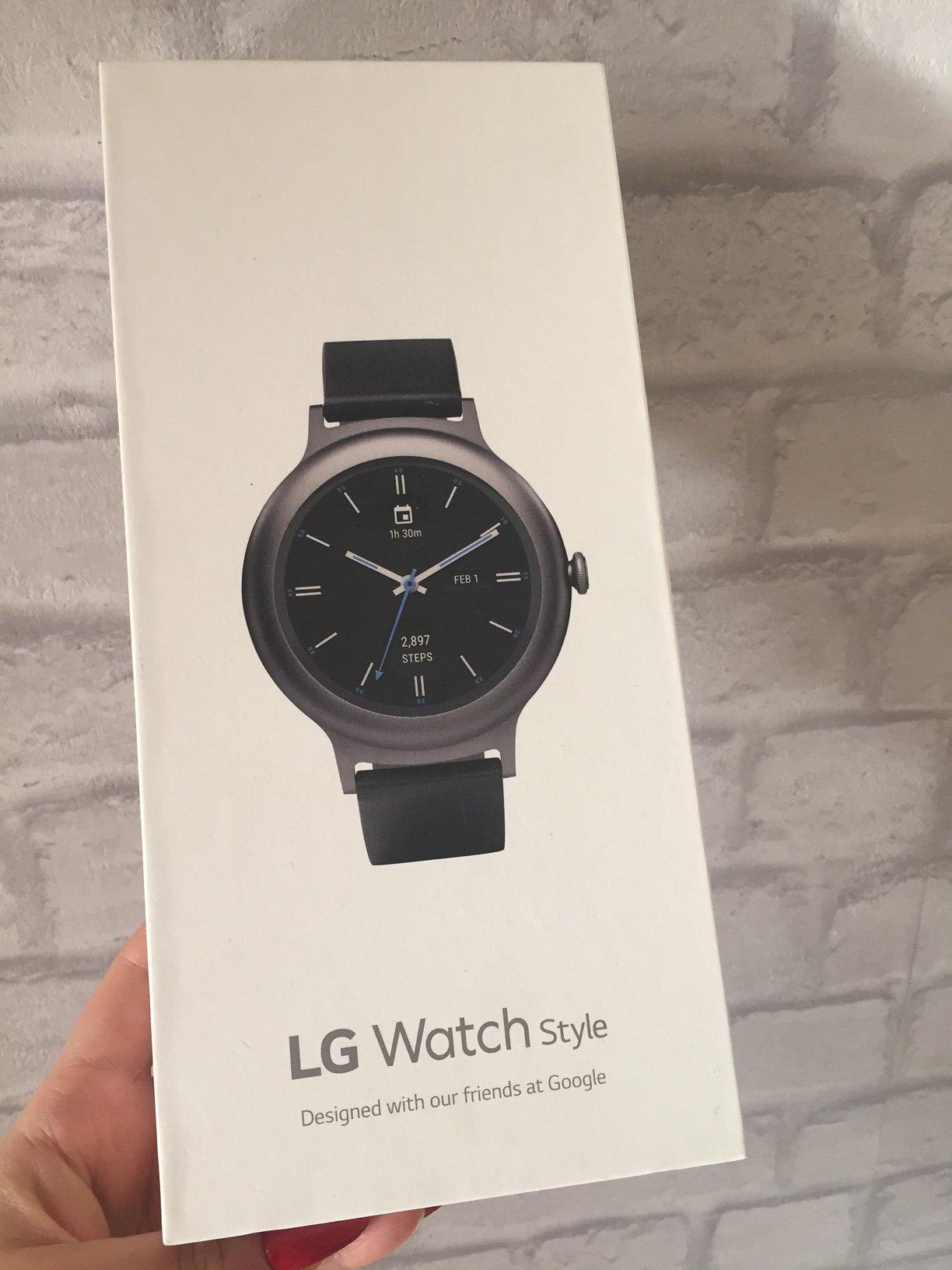 Lg Watch Style Lg W270 Titan Nowy Android Wear 7048588932 Oficjalne Archiwum Allegro