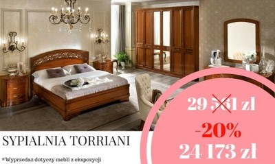 Sypialnia Torriani W Super Cenie Meble Klasyczne