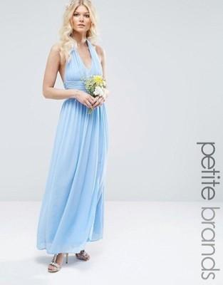 b3b6adf8c6cf5c Długa sukienka TFNC ASOS - 6560325114 - oficjalne archiwum allegro