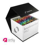 Zestaw Mega Box Brushmarker Pro 60 kolorów