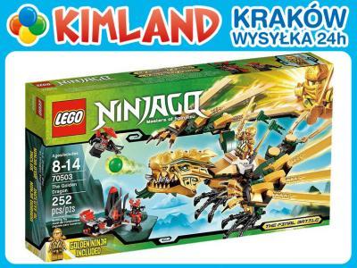 Klocki Lego Ninjago 70503 Złoty Smok 3336434649 Oficjalne