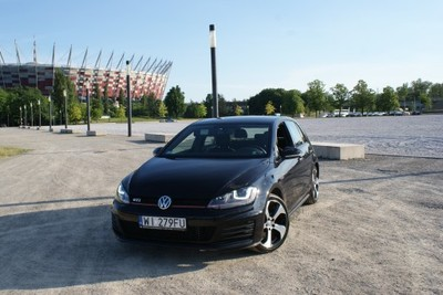 Volkswagen Golf Vii Gti 2016r 220km Dsg Czarny 6853237113 Oficjalne Archiwum Allegro