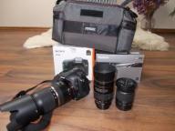 Sony A68 + 3 obiektywy+torba+gwarancja