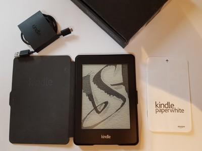 Kindle PaperWhite II 2 Bez reklam Amazon 4GB IDEAŁ