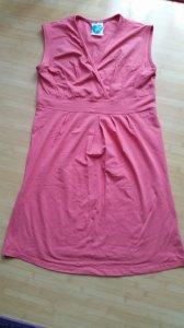 Sukienka ciążowa, koral, r. M/L