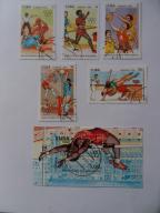 KUBA - ROK 1990 - MI 3363-67+BL.118 - KASOWANE