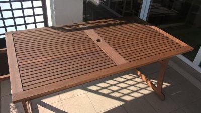 Stół Jutlandia Carolina 240x90 Cm Egzotyczne