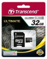 Transcend microSD 32GB Class10 + adapter PREMIUM