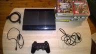 Playstation 3 PS3 SuperSlim 500 gb Gry Mega Zestaw