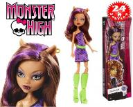 MONSTER HIGH LALKI PODSTAWOWE CLAWDEEN WOLF DKY17