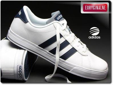 Buty męskie adidas daily team f99638 białe, nowość Zdjęcie