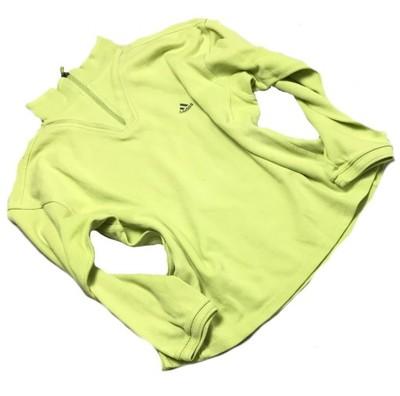 bluza adidas limonkowa