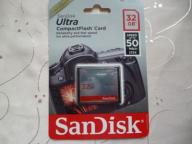 Karta SanDisk Compact Flash 32GB ULTRA +50MB/s