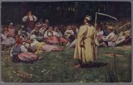 W. WODZINOWSKI 1909r Typy Ludowe Krakowskie k372