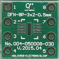 [LISPOL] Adapter uniwersalny DFN050-8P3x2-DIP 0.3