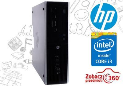 Komputer HP 6200 Core i3 4x3,3GHz/4/320 DVDRW Win7
