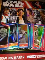 Album STAR WARS Nowy + 10 kart Star Wars do wyboru