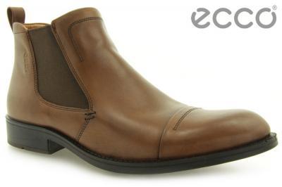 e7ca6952098f9 Eleganckie męskie BUTY sztyblety ECCO brązowe 46 - 4655813271 ...