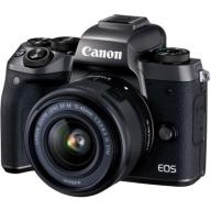 Canon EOS M5 + EF-M 15-45 mm IS STM + adapter